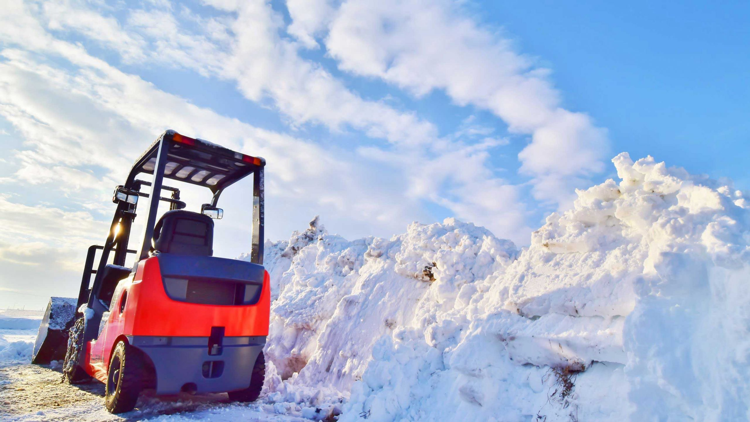 How to Prep Your Forklift for Winter Weather