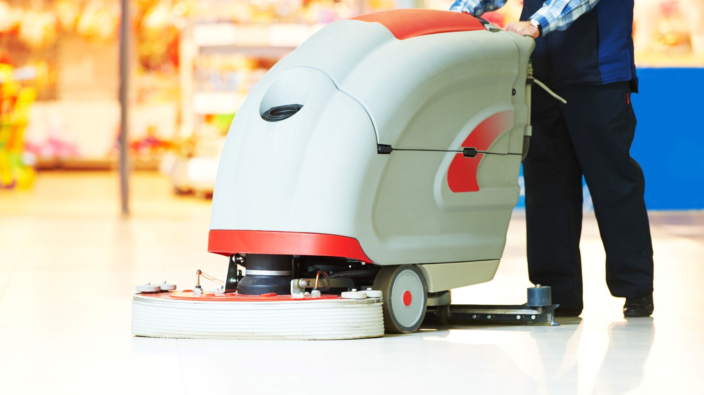 How to Choose the Best Industrial Scrubber for Your Floor Type