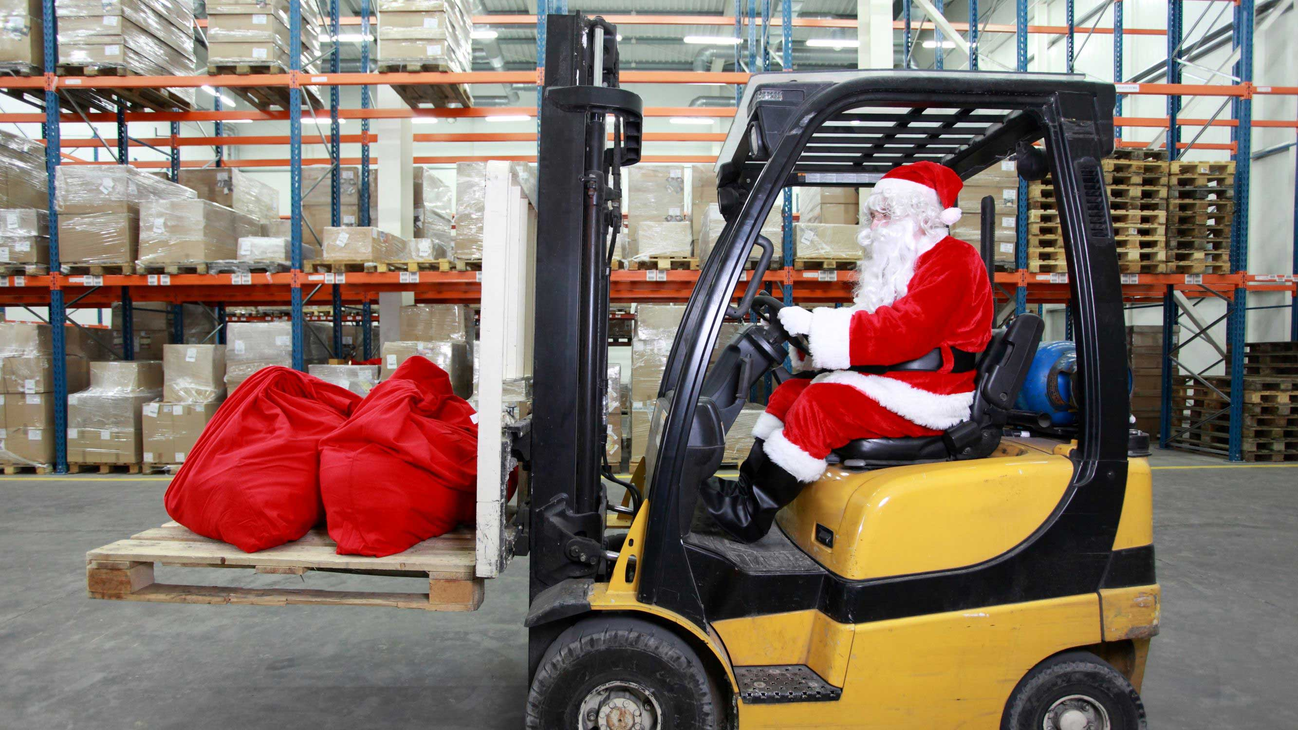 Happy Holidays from Industrial Forklift Truck