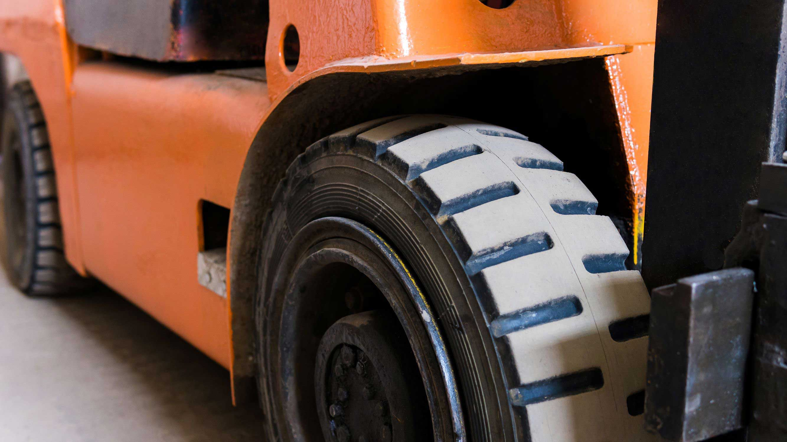 Everything You Need to Know About Forklift Tires