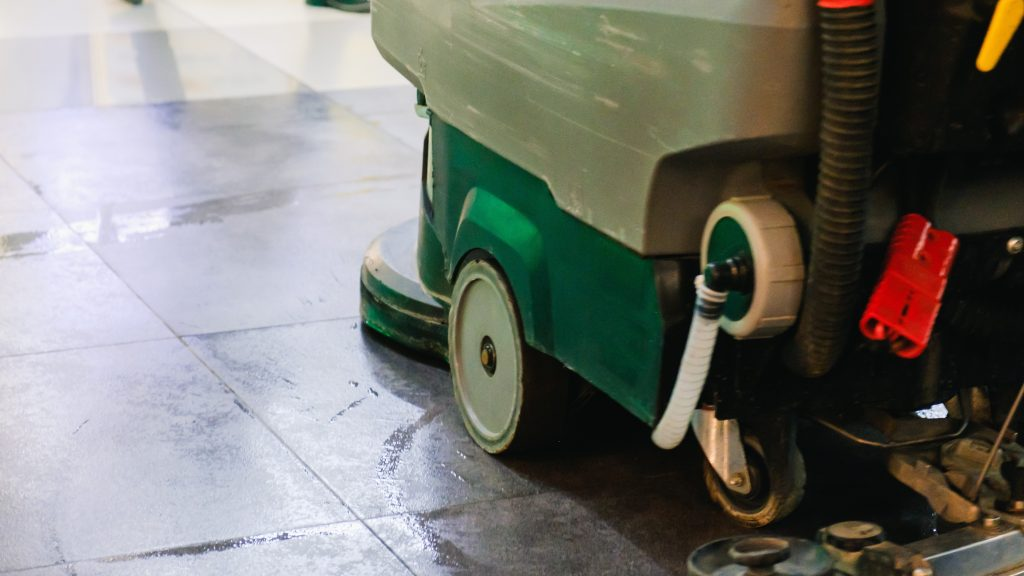 This is one of many floor sweeper-scrubbers the dealers that partner with ScrubberShop carry.