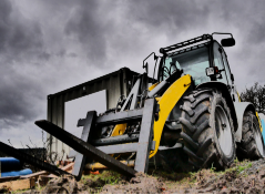Large rough terrain forklift from Forklift Inventory